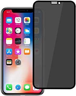 Devia Real Series 3D Full Screen Privacy Tempered Glass for iPhone 6.5 - Black