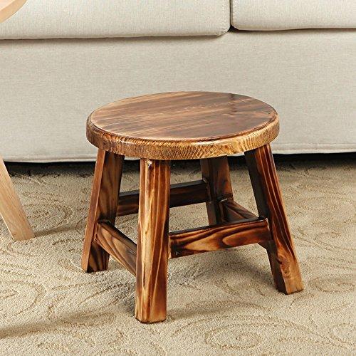 ZHANGRONG- Tabouret de table à café Tabouret de canapé adulte Tabourets de bois massif à usage domestique -Tabouret de canapé
