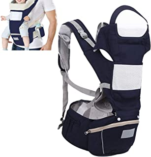 Wrap Baby Carrier, Multifunction Ergonomic Baby Wrap,Breathable Soft Newborn Front Facing Carrier with Storage Bag for Mil...