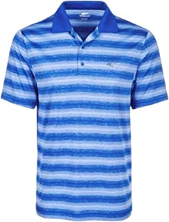 Mens Freemont Stripe Rugby Polo Shirt