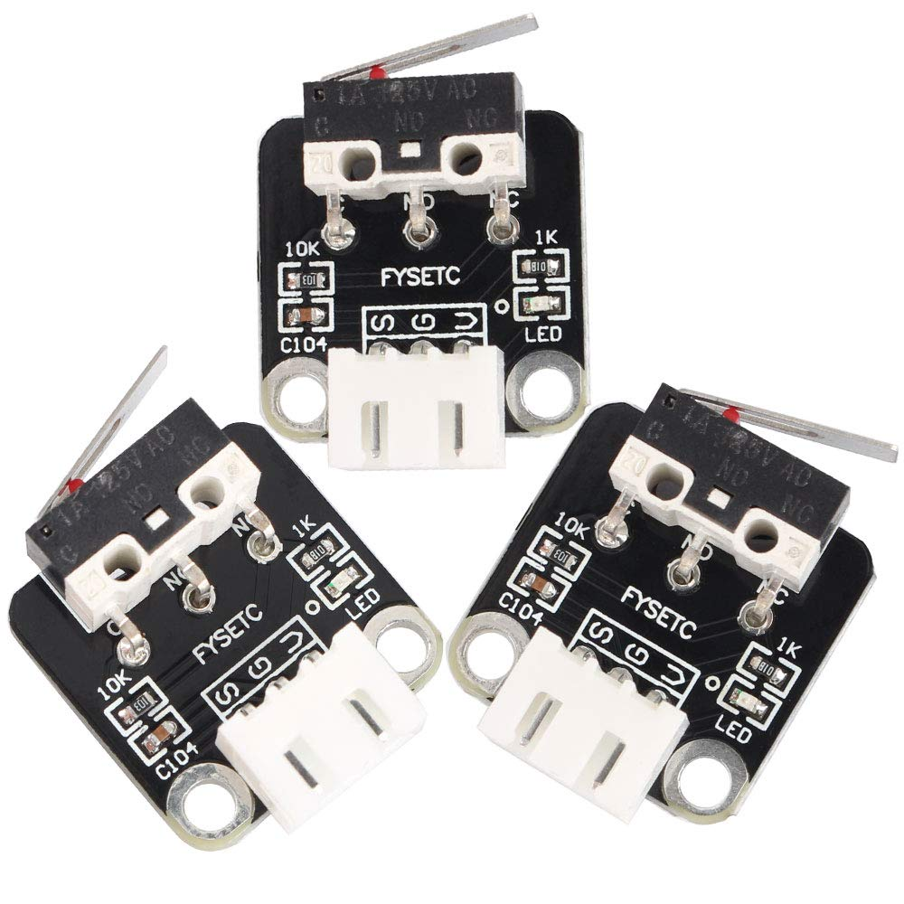 FYSETC Ender 3 V2 Mail order 3D Printer Part Limit Switch Accessories Mecha Albuquerque Mall
