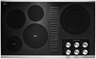 KitchenAid KCED606GSS 36 Stainless Steel Electric Downdraft Cooktop