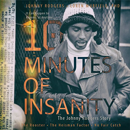 10 Minutes of Insanity audiobook cover art