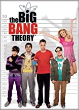 "Ata-Boy The Big Bang Theory Assortment 4 2.5"" x 3.5"" Magnet for Refrigerators and Lockers 2.5"" x 3.5"" Multi 20746BBT"