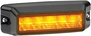 Federal Signal IPX602B-A IMPAXX LED Exterior/Perimeter Light, Class 1, CAC Title 13, Surface Mount, Amber Off-Axis Lens with Amber LEDs