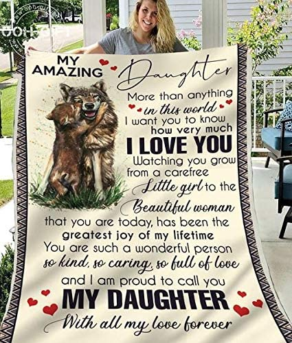 Wolf Limited price to My Amazing Daughter Will Max 42% OFF Love Best All Gift Forever F