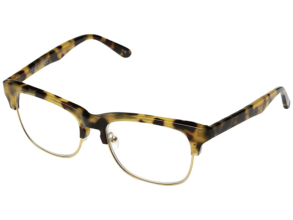 Corinne McCormack Fanni Reading Glasses (Tortoise) Reading Glasses Sunglasses