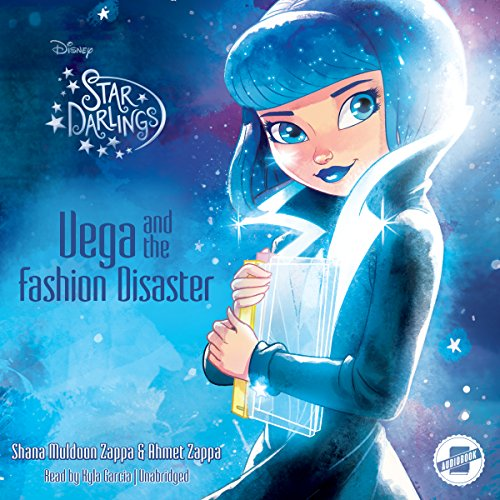 Vega and the Fashion Disaster audiobook cover art