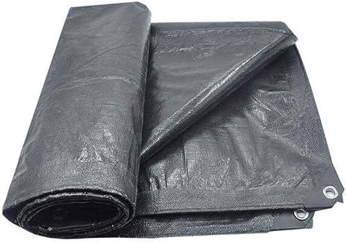 Zhang Li Li Baches Bache bache épaisse imperméable imperméable bache bache bache auvent extérieur gris Multi-Taille (Taille   8x12m)