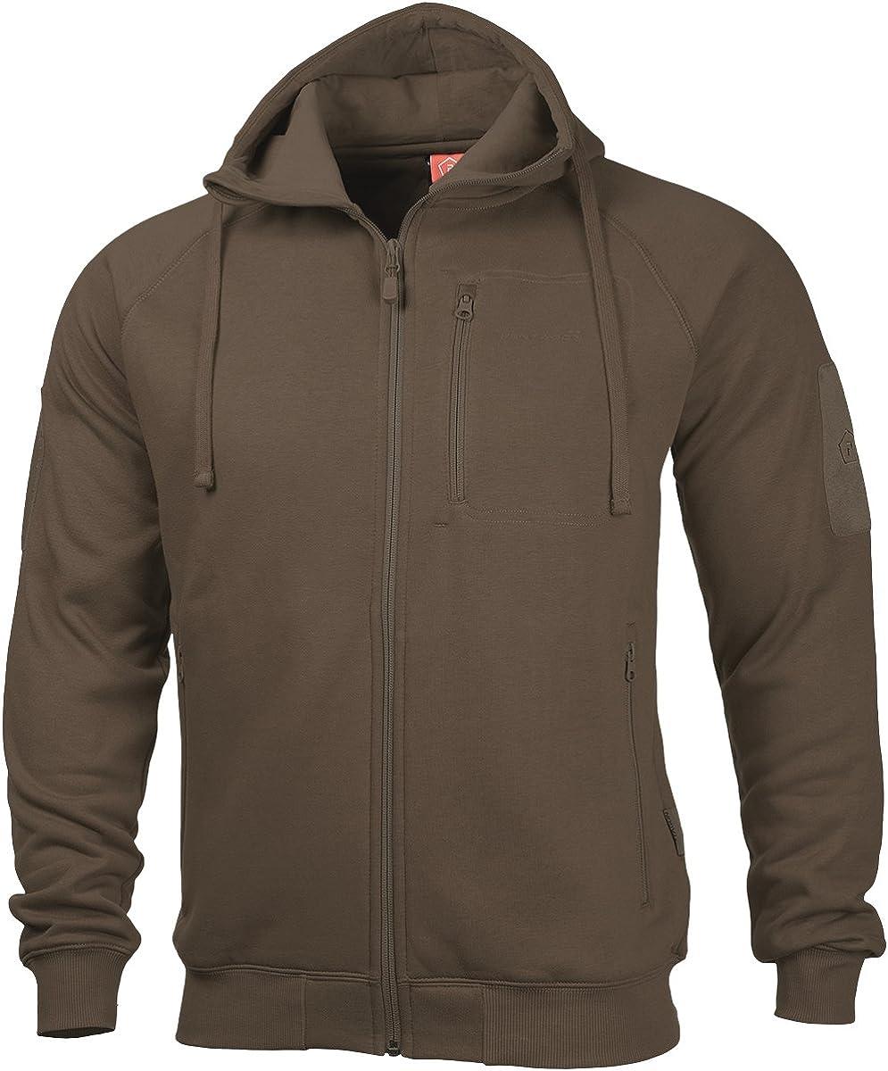 男女兼用 Pentagon Men's 予約 Leonidas 2.0 Terra Sweater Brown