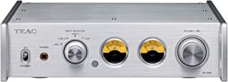 Teac AX-505-B - Amplificador estéreo (115 W por Canal, función de Ahorro de energía, Amplificador de Auriculares, Entrada RCA), Color Negro Plata
