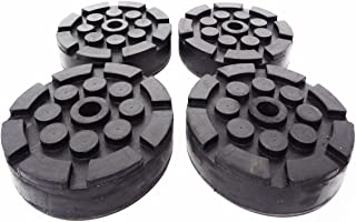 QUALITY LIFT ROUND RUBBER PADS for OLDER STYLE QUALITY LIFTS SET OF 4 26K25030