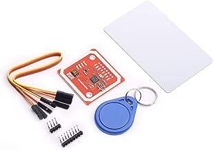 DEVMO PN532 NFC NXP RFID Module V3 Kit Near Field Communication Reader Module Kit I2C SPI HSU with S50 White Card Key Card for Arduino Raspberry Pi DIY Smart Phone Android Phone