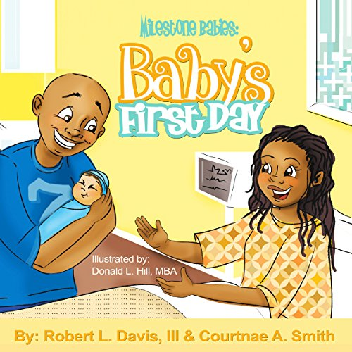 Milestone Babies: Baby's First Day (Volume 1) audiobook cover art