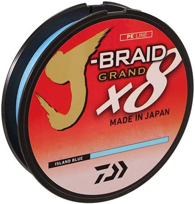Daiwa J-Braid Grand x8 Island Blue Braided Line