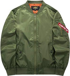 LIXIYU Autumn Bomber Jacket for Men and Women Flight Jacketzipper Jacket Coat Fashion Casual Windbreaker Couple Coat
