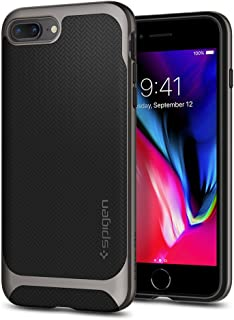 Spigen Neo Hybrid designed for Apple iPhone 8 Plus Case (2017) / designed for iPhone 7 Plus Case (2016) - Black & Gunmetal