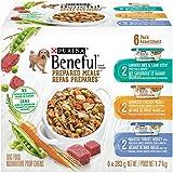 Beneful Prepared Meals Wet Dog Food Variety Pack - Lamb Stew, Simmered Chicken