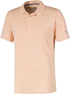 PUMA Golf 2019 Men's Caddie Stripe Polo