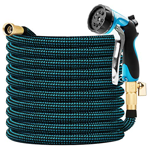 BFULL 100FT Garden Hose, Expandable Water Hose with 10-Function Spray...