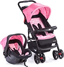 Travel System Moove Cosco - Rosa (Trama