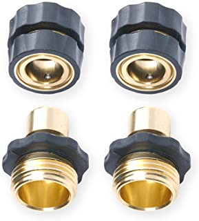 """Best 3/4"""" Garden Hose Quick Connector Value Pack Review"""