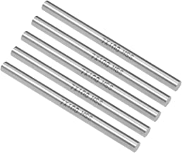 uxcell Round Steel Rod, 7mm HSS Lathe Bar Stock Tool 100mm Long, for Shaft Gear Drill..