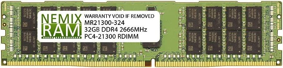 NEMIX RAM 32GB Replacement for Samsung M393A4K40BB2-CTD DDR4-2666 ECC RDIMM 2Rx4