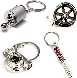 Ispeedytech 4 Auto Part Model Metal Keychain/Key...