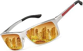 Night Time Driving Glasses,Polarized Anti Glare Night Vision HD Sunglasses