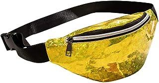 Wultia - Bags for Women 2019 Fashion Neutral Outdoor Sport Laser Beach Bag Messenger Crossbody Bag Chest Bag Bolsa Feminina *0.92 Yellow