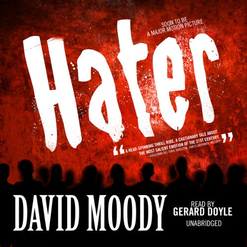 Hater audiobook cover art