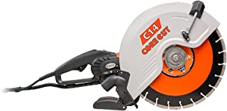 Diamond Products Core Cut 48975 C14 Electric Hand Wet and Dry Concrete Saw, 14