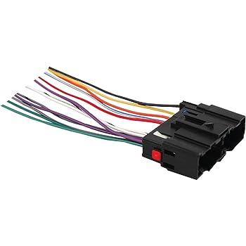 Absolute USA H1108//7302 Radio Wiring Harness for Hyundai Santa Fe 2007-2008 Power 4 Speaker 70-7302,HWH-1108