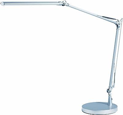 'Alco 9078, lampe de bureau LED, d'environ 53x 59x 12,5cm, argent, métal, 53x 59x 12,5cm