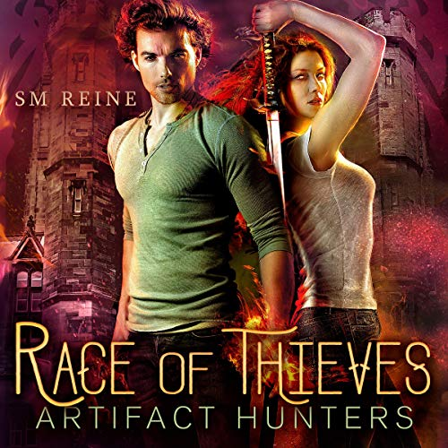 Race of Thieves: An Urban Fantasy Novel audiobook cover art
