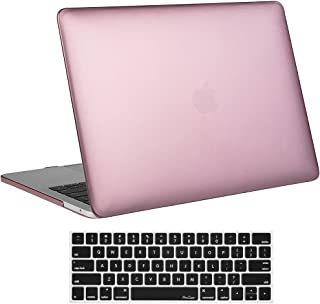MacBook Pro 15 Case 2017 & 2016 A1707 ProCase Hard Case Shell Cover and Keyboard Cover for Apple Macbook Pro 15 (Newest 2017 & 2016 Release) with Touch Bar and Touch ID -Rose Gold