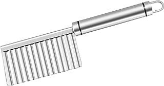 Cortador de acero inoxidable, con hoja amplia, para cortar patatas y verduras