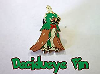 Pokemon, Decidueye GX Pin, From the Decdueye GX Premium collection Box, Mint, New