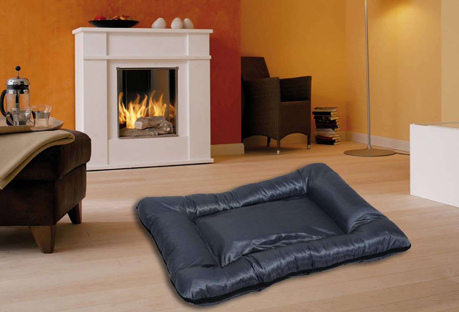 Best For Pets Dog Bed with TüV Quality Dog Cushion Dog Sofa BELLO MXXXL in many colors (ANTHRACITE, XXL)