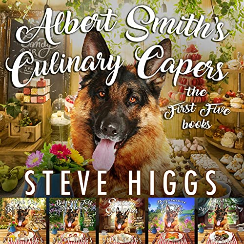 Albert Smith's Culinary Capers: The First Five Books cover art