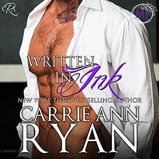 Written in Ink audiobook cover art