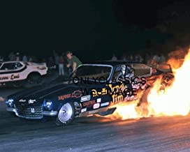 OnlyClassics Jungle Jim LIBERMAN CHEV Vega Funny CAR Drag Racing Cool FIRE Burnout 8X10 Photo