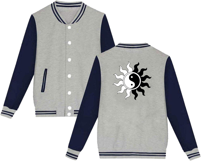 BSUUJCGF Ying yang Symbol sold Max 89% OFF out Personalized Uniform Woman Ja Baseball