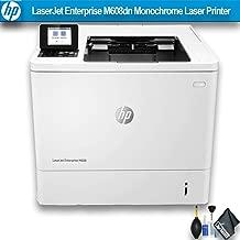 HP Laserjet Enterprise M608dn Monochrome Laser Printer (K0Q18A#BGJ) Essential Bundle (Renewed)