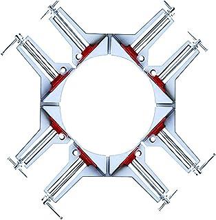 ST TS 改良版 頑丈 精密 コーナー クランプ 90°直角 バイス 2個 4個 セット 締め具 木工定規 直角定規 DIY 工具 (4個)