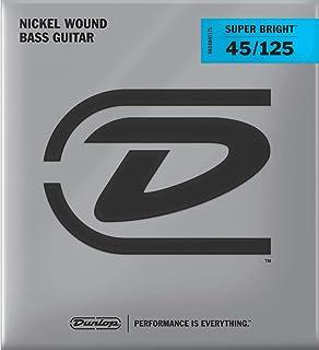 Jim Dunlop DBSBN45125 Md-5/St Bass Super Bright Nickel Bass String