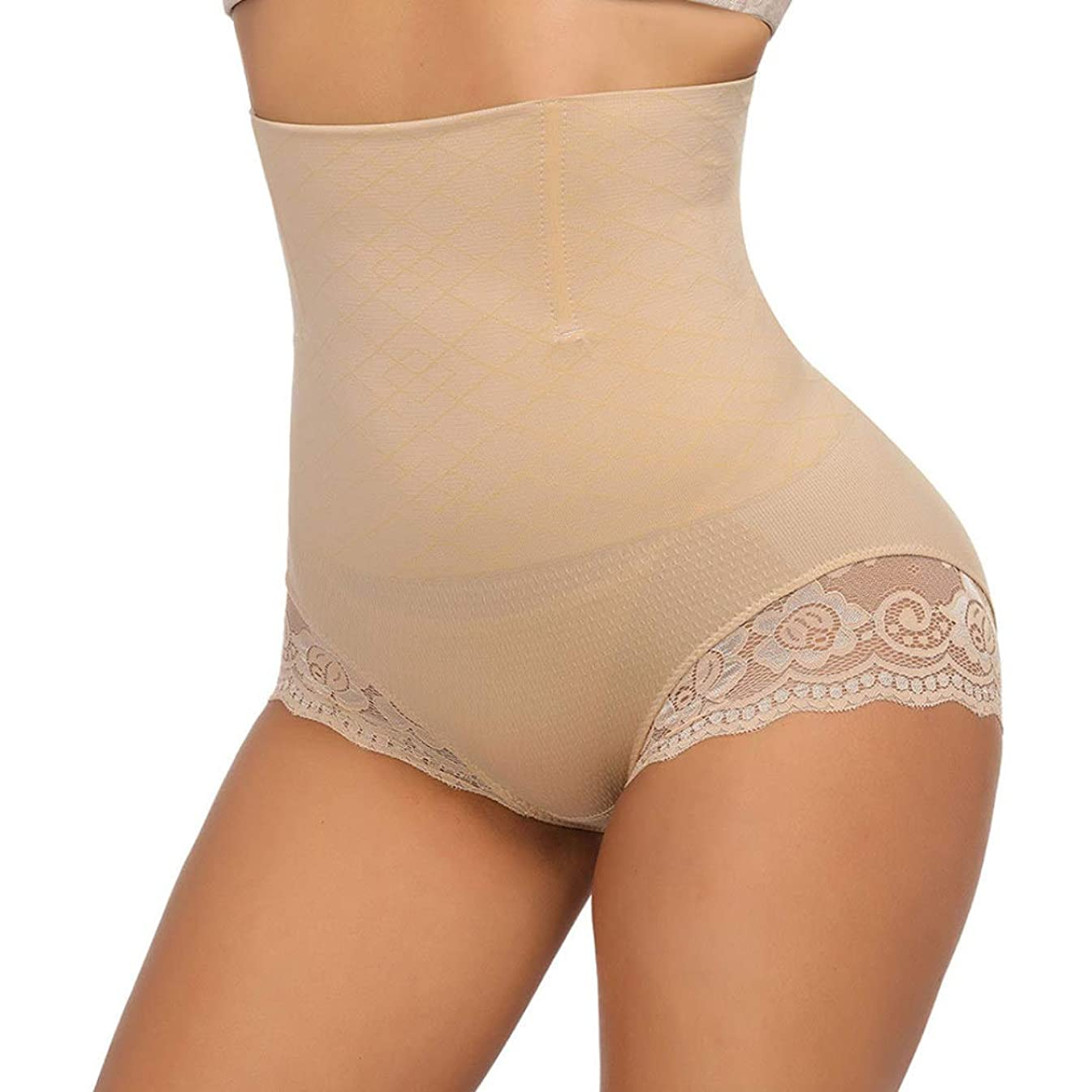 XOKIMI Invisable Body Shaper High Waist Tummy Control Panty Butt Lifter Shapewear Thong Waist Trainer for Women