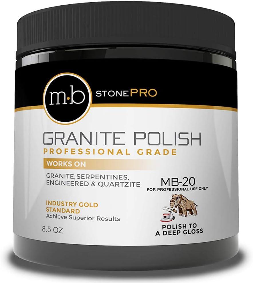 New arrival MB Stone Care - MB-20 Granite Polish 8.5 oz. Jar New popularity