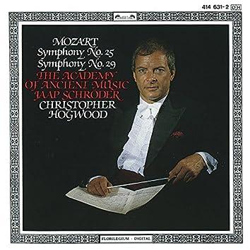 Mozart: Symphonies Nos. 25 & 29